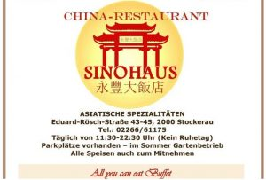 China-Restaurant Sinohaus Stockerau